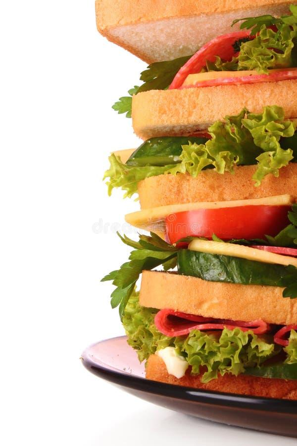 Sandwich énorme images stock