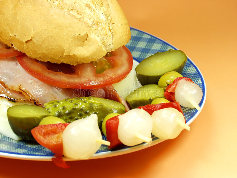 Download Sandwich Royalty Free Stock Photos - Image: 1234228