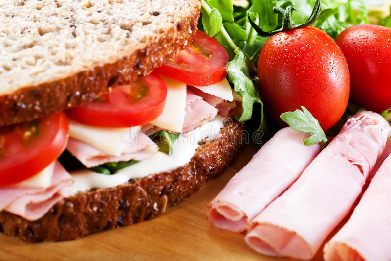 Sandwich stockfotos