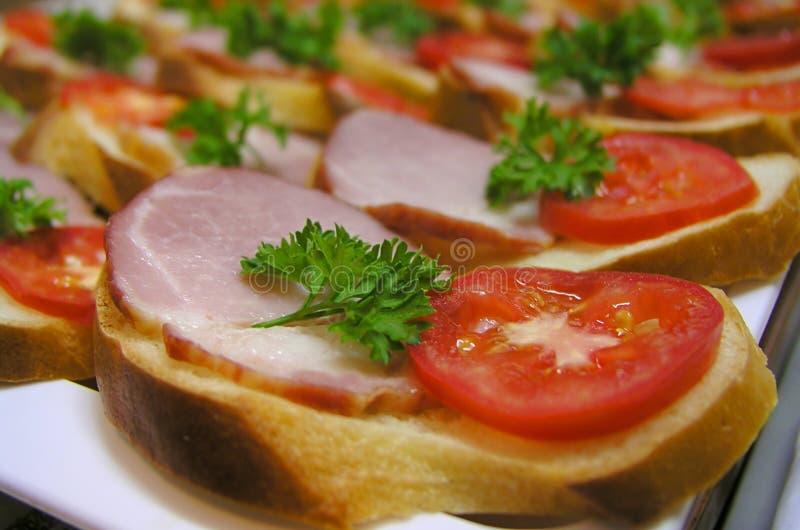 Sandwich 2 stock photo