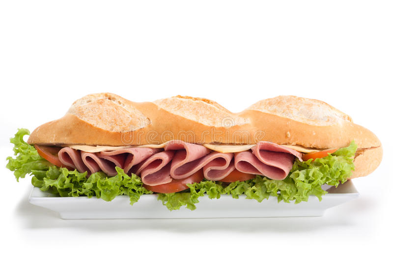Download Sandwich stock image. Image of grain, time, lunch, tomato - 22540239