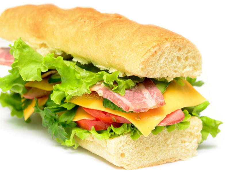 Download Sandwich stock photo. Image of bacon, food, snack, gourmet - 26997306