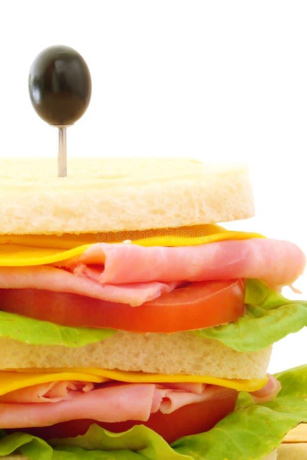 Sandwich lizenzfreie stockfotos