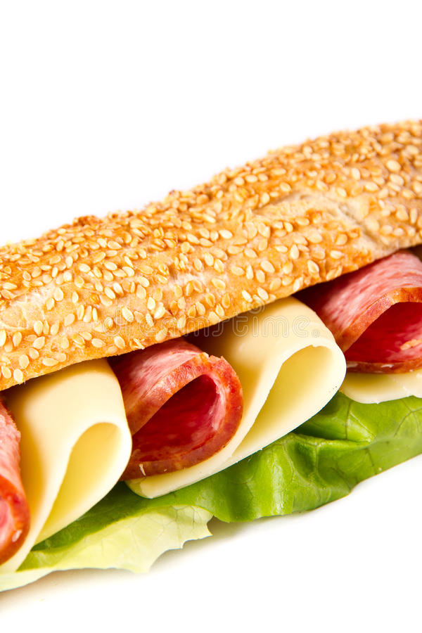 Download Sandwich stock foto. Afbeelding bestaande uit rood, geroosterd - 39106248
