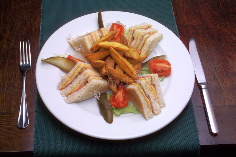 Download Sandwich stock photo. Image of french, lunch, diet, snack - 4477652