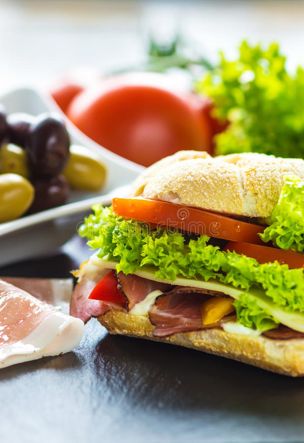 Sandwich photo stock