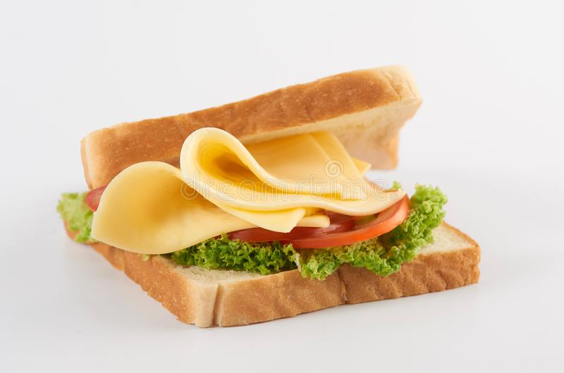 Sandwich au fromage photographie stock