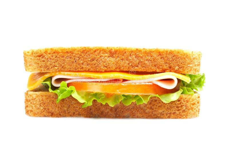Sandwich au jambon sain photos stock