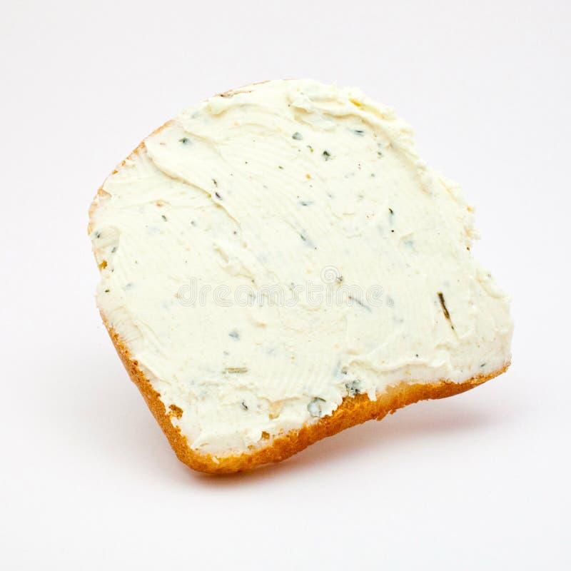 Sandwich avec du fromage traité photographie stock libre de droits