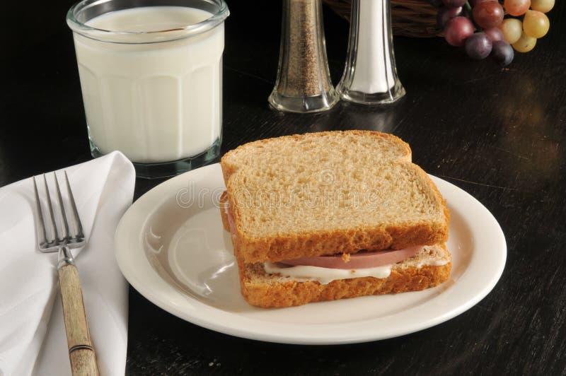 Sandwich bidon photos libres de droits