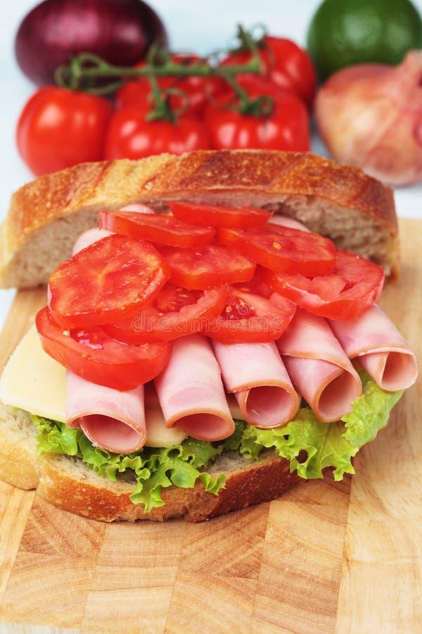 Sandwich bidon photographie stock libre de droits