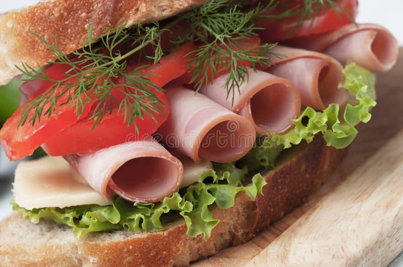 Sandwich bidon image stock