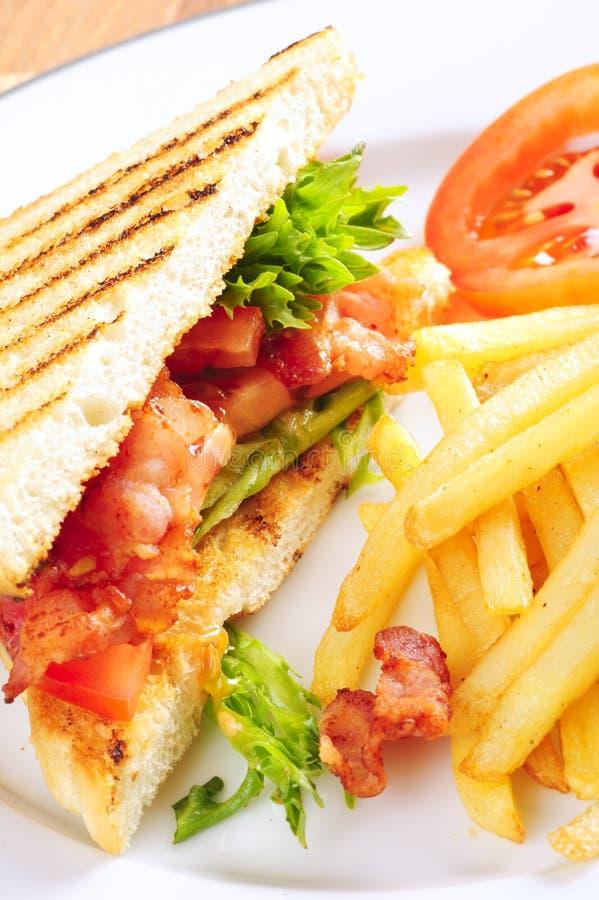 Sandwich BLT royalty-vrije stock afbeeldingen