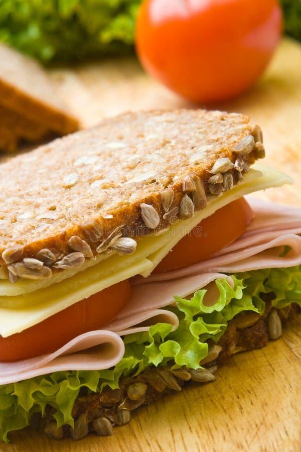 Sandwich complet frais photo libre de droits
