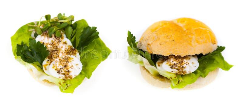 Sandwich délicieux et sain photos stock