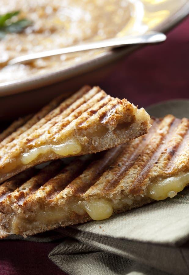 Sandwich et potage photos libres de droits