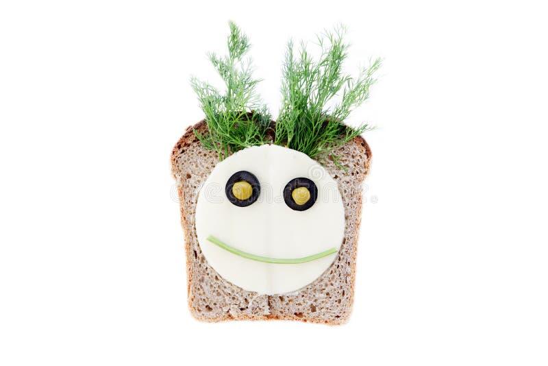 Sandwich für Kinder lizenzfreies stockbild