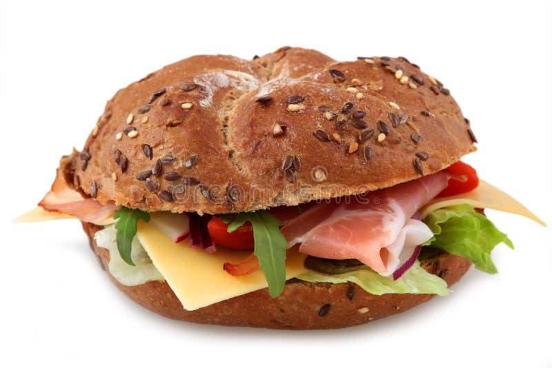 Sandwich frais à bagel photos libres de droits