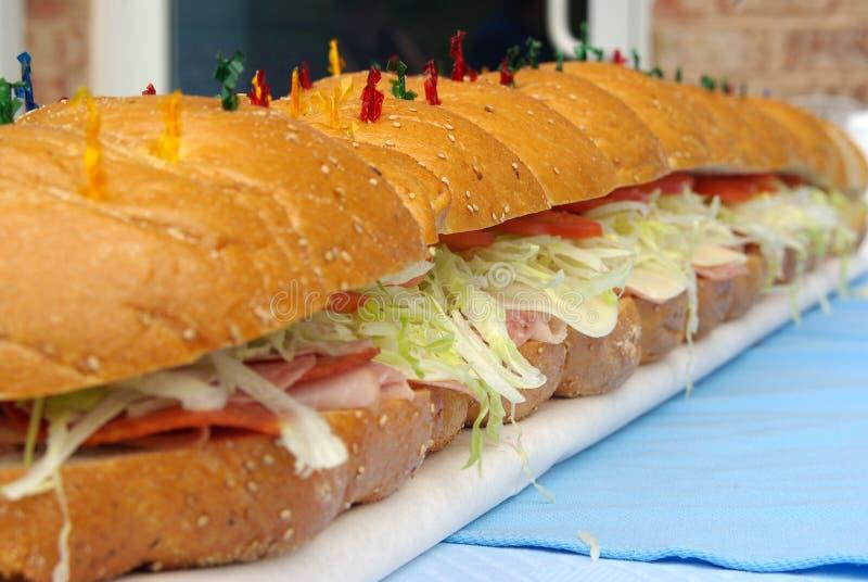 sandwich grand à hogie photos libres de droits