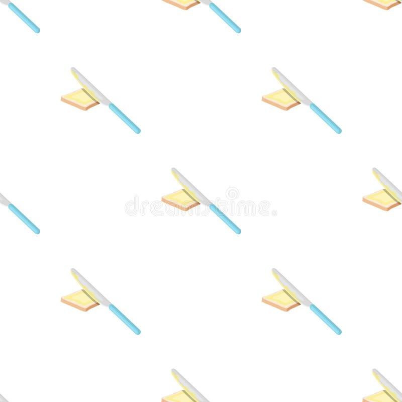 Sandwich met boter Voedsel enig pictogram in van de het symboolvoorraad van de beeldverhaalstijl vector de illustratieweb vector illustratie