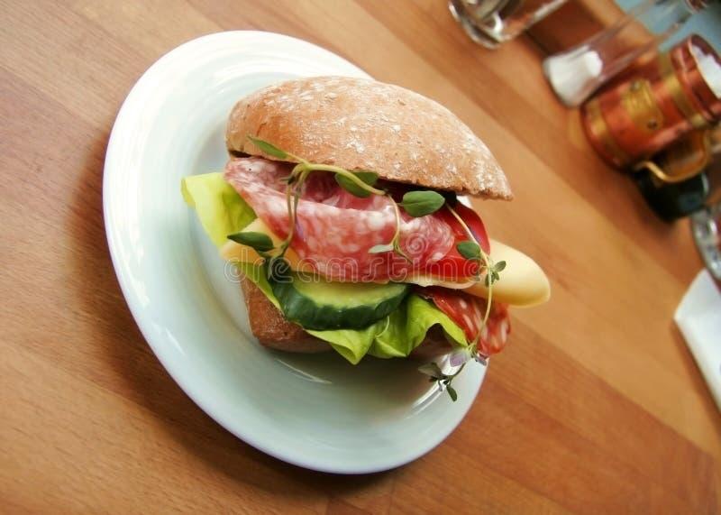 Sandwich pour le déjeuner ? photos stock