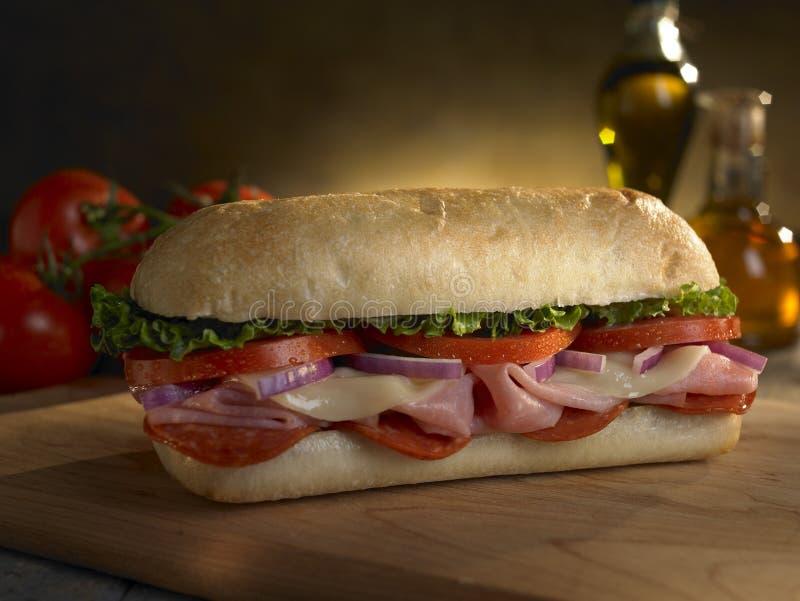 Sandwich secondaire à Delli photos stock