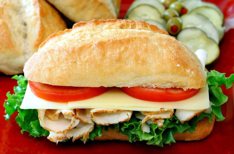 Sandwich secondaire photographie stock libre de droits