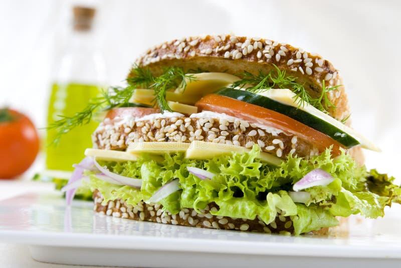 Sandwich Végétarien Photos libres de droits