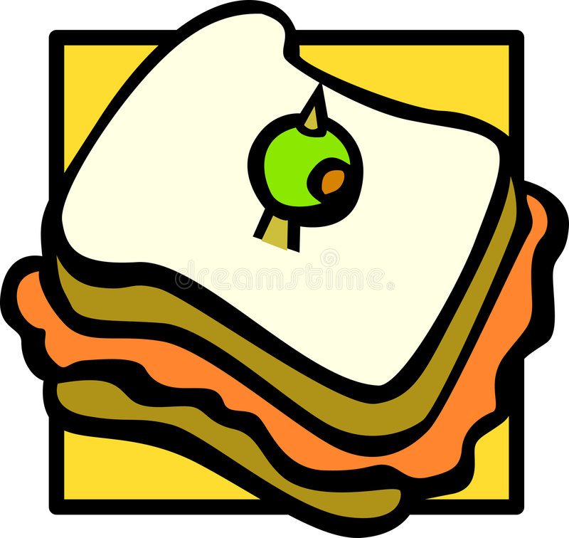 Download Sandwich Vector Illustration Stock Vector - Illustration: 6253726