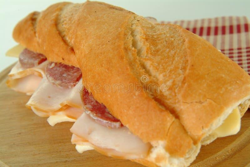Sandwich, voedsel royalty-vrije stock foto's