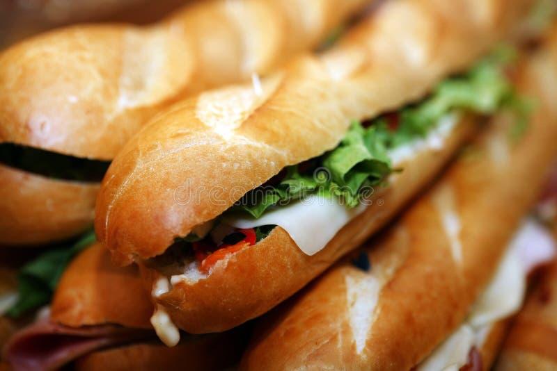 Sandwich, voedsel stock afbeelding