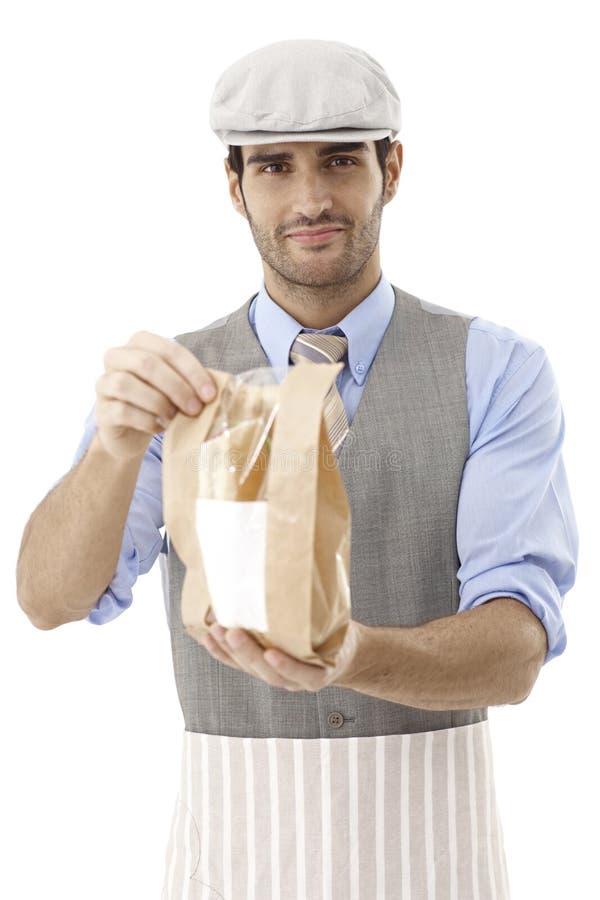 Sandwich zu gehen lizenzfreies stockfoto
