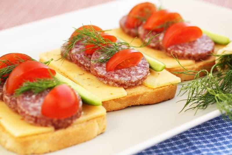 Sandwiche stockfotos