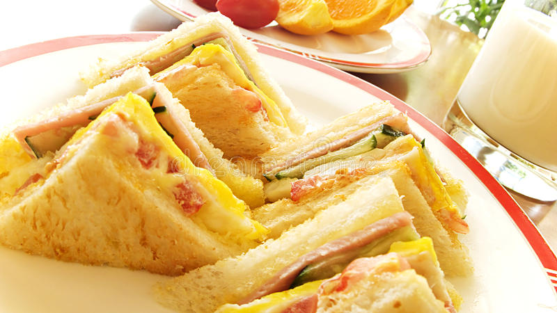 Sandwiches stock photos