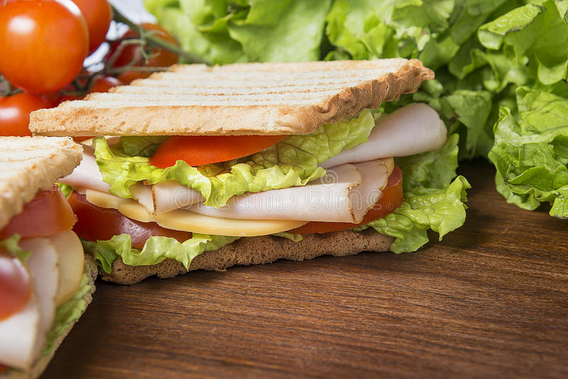 Download Sandwiches stock image. Image of closeup, catering, bread - 39512485