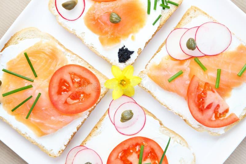 Sandwichs à ressort photos stock