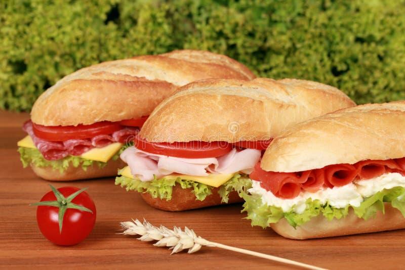 Sandwichs photo stock