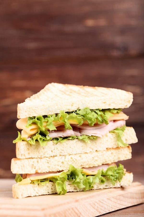 Sandwichs savoureux photo stock