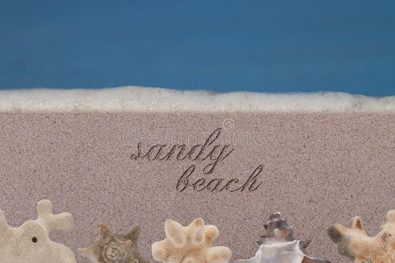 Sandy Beach imagenes de archivo