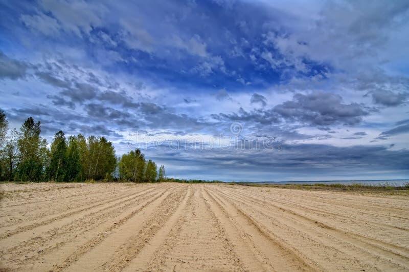 Sandy Beach fotografía de archivo libre de regalías
