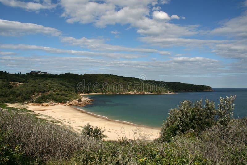 Sandy Beach - Botany Bay, Sydney, Australia royalty free stock photography