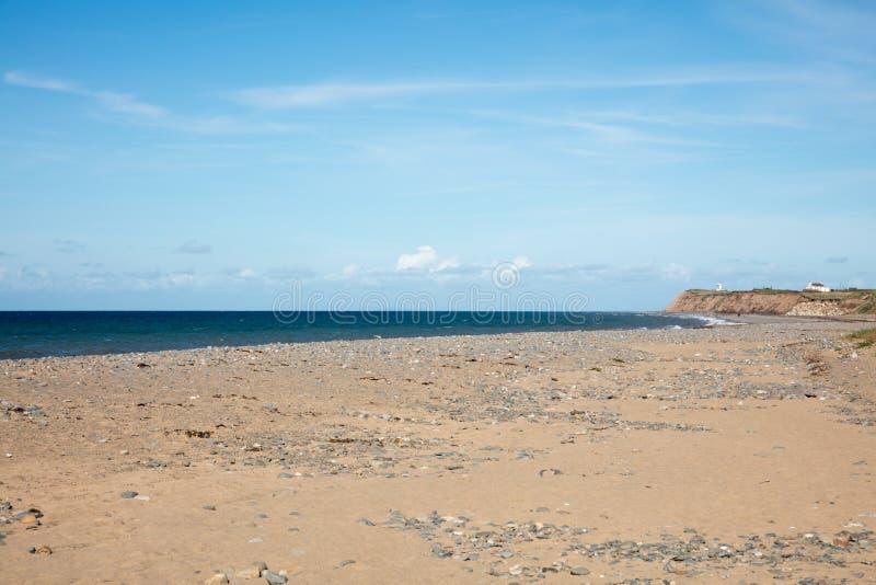 Sandy Beach Isle do homem foto de stock