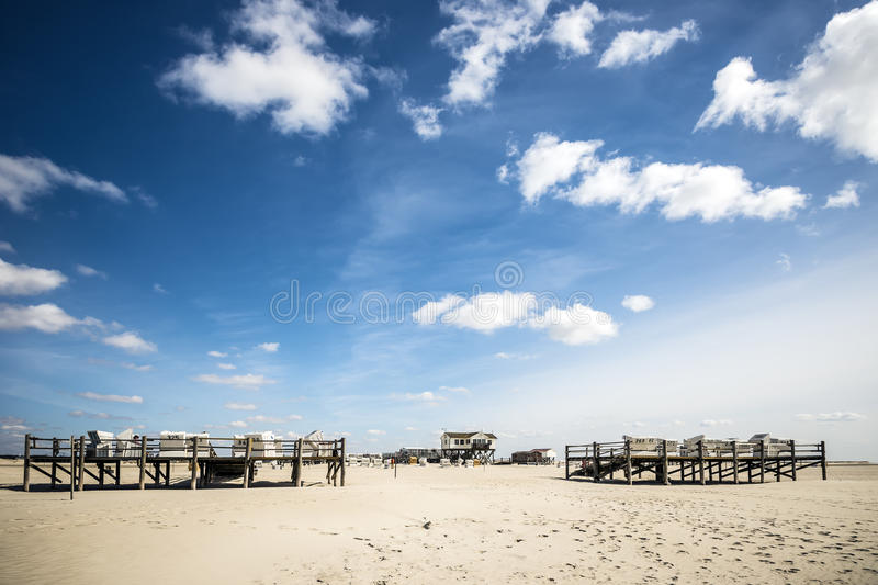 Download Sandy Beach St. Peter-Ording Stock Photo - Image: 30366712