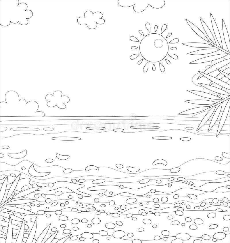Deserted Island Beach: Desert Island Stock Vector. Illustration Of Clipart
