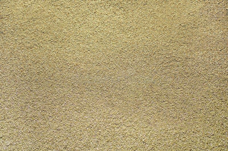 Sandy-Beschaffenheit des beige Sandes stockfoto