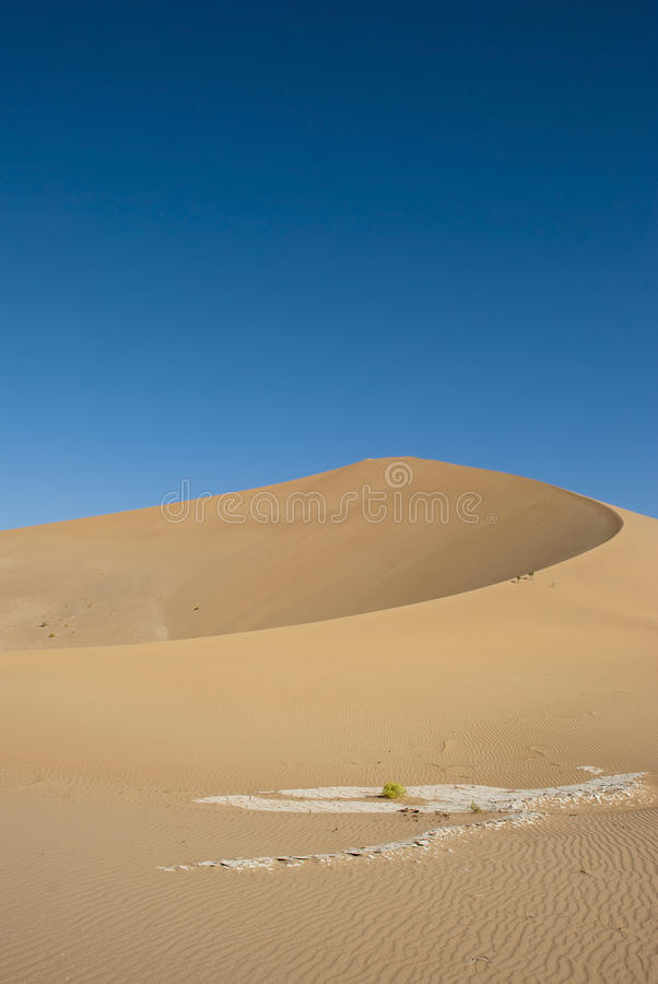 Download Sandy dunes stock photo. Image of arabic, background - 22960968