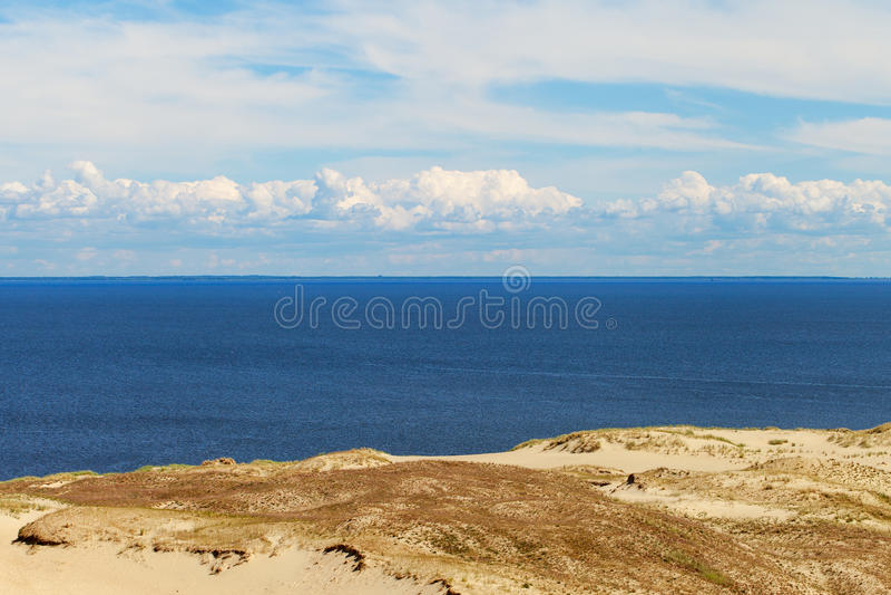 Download Sandy Dunes, Curonian Spit , Lithuania. Stock Image - Image of horizon, neringa: 34248823