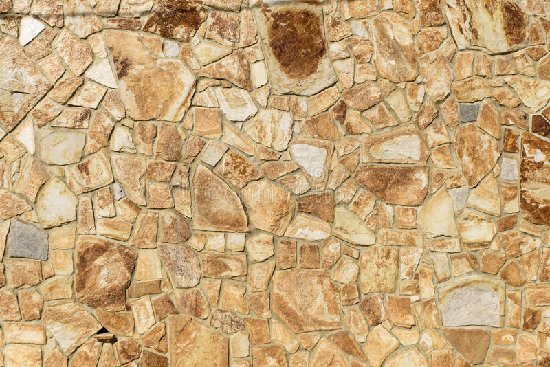 Sandy Flat Stone Rocks Wall Seamlessly Arranged For Decorative ...