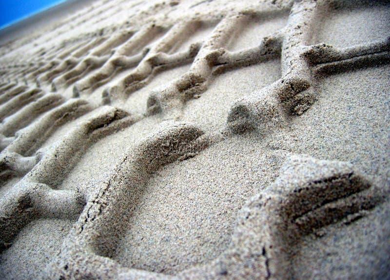Sandy-Furche stockbilder
