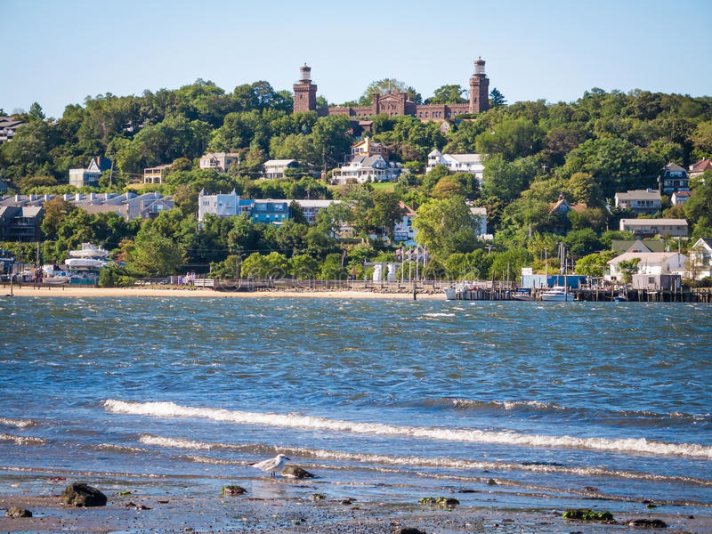 Sandy Hook Bay View photographie stock libre de droits